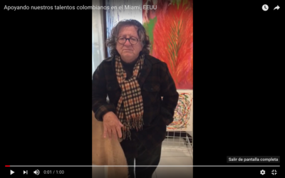 VIDEO Apoyando nuestros talentos colombianos en el Miami, EEUU