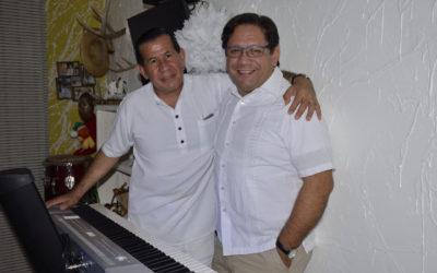 Los directivos del Museo, apoyando a los grandes talentos de la Música en Miami.