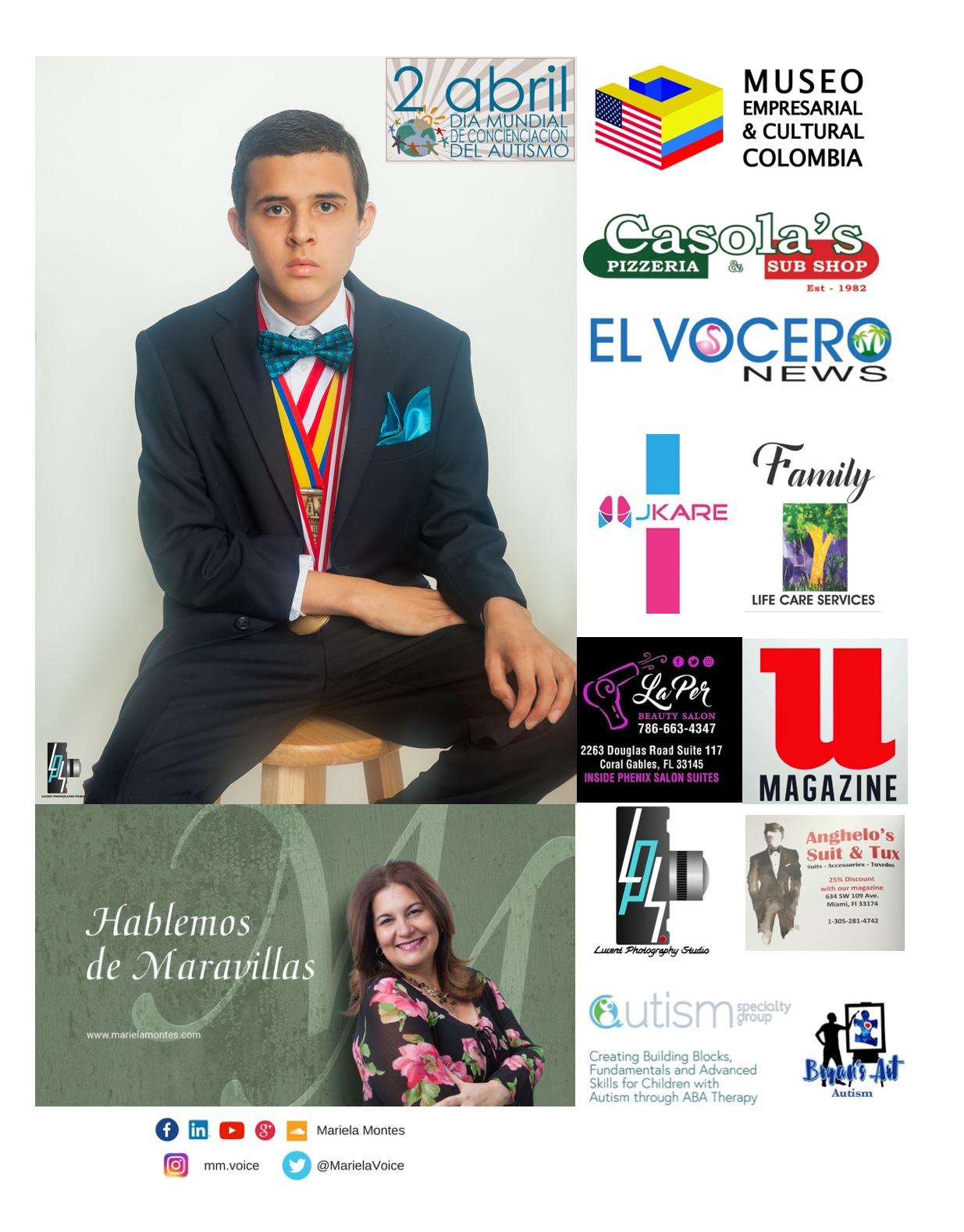 El Museo apoyando al Niño Bryan Fernandez - Cornejo,diagnosticado con autismo.
