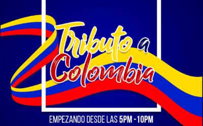 """""""Tributo a Colombia"""" para celebrar la fiesta de la independencia"""