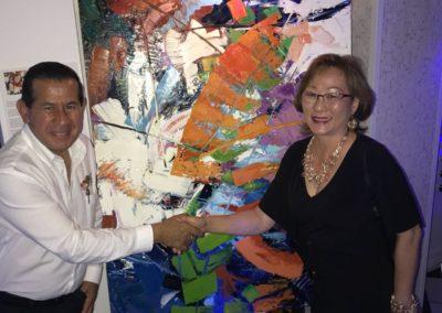 Enalteciendo el trabajo de la Art. MaiYap de la República de Panama.