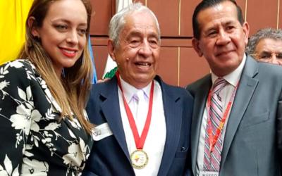 Pionero de la Señalización Geográfica de Colombia