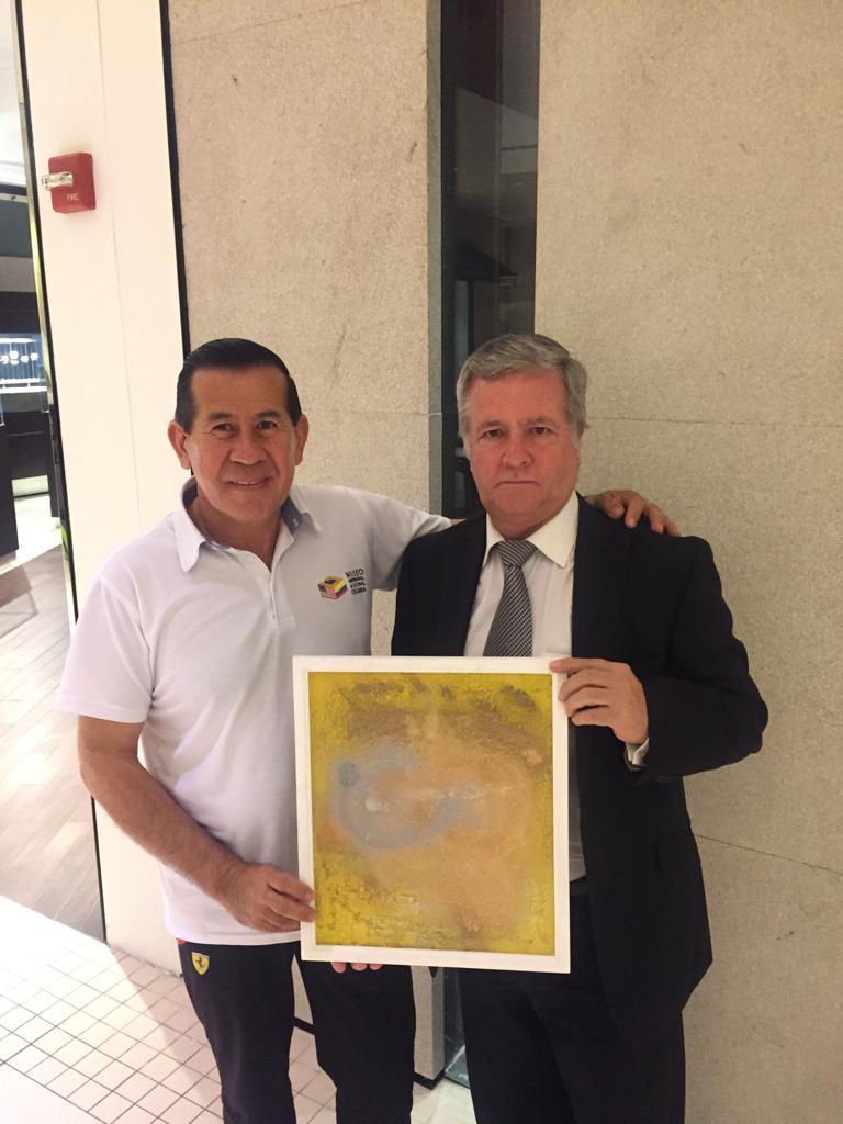 El Museo le brinda el apoyo al Artista William Michaels Guerrero del Departamento de Cundinamarca.