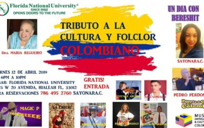 Florida National University, nos recibe para mostrar las riquezas y el folclor Colombiano.