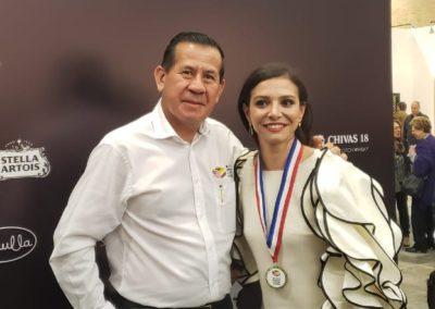 El Presidente del Museo, agradecido por la invitación especial para representar a los Artistas Emergentes de Miami ,en el Festival de Arte de Bogotá 2019.