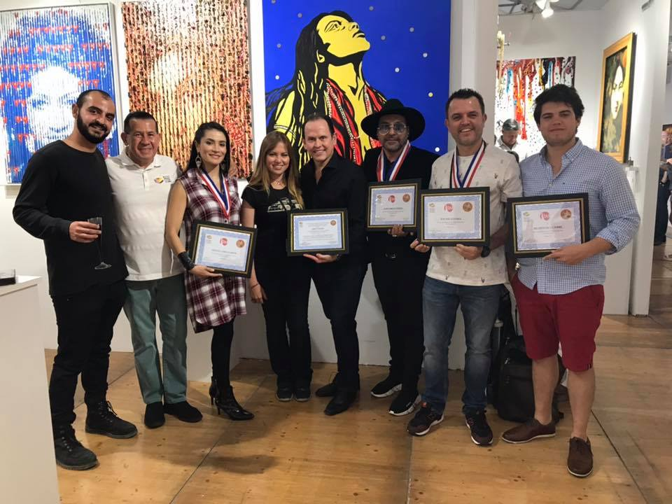el Museo Empresarial y Cultural Colombia en el Festival del Art Basel,apoyando y enalteciendo a los Artistas Colombianos.