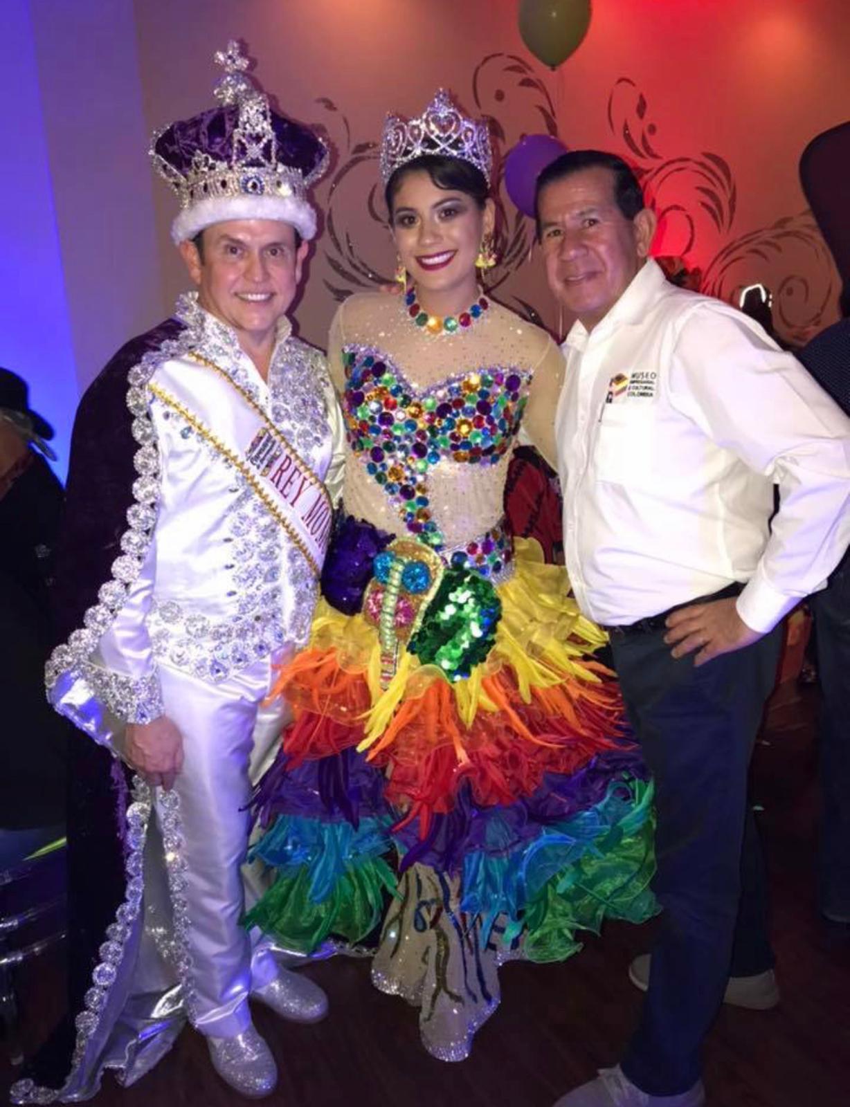 ,apoyando a nuestras Reinas y talentos Colombianos en el Exterior