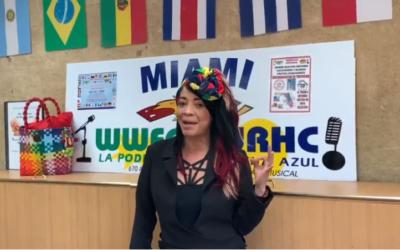 """Agradecimiento de """"Chechi La Parrandera"""" al Museo Empresarial y Cultural Colombia por todo el apoyo y el respaldo"""