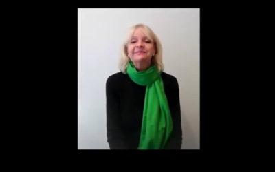"Artista Lydia Garcia Trujillo interpreta ""Sabia manera"" de Juan Luis Guerra"